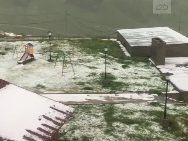 Лето на горнолыжном курорте Гудаури