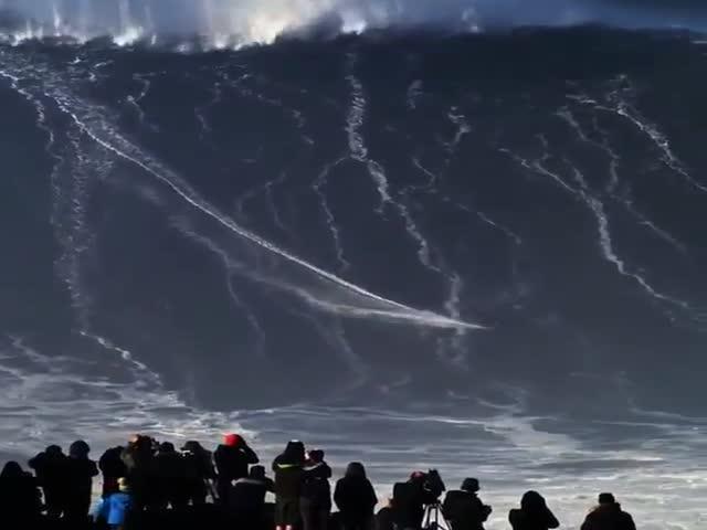 Экстремальный сёрфинг, от которого захватывает дух