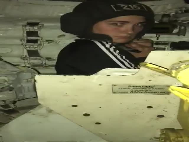 Когда офицер танкист решил показать жене, где он работает