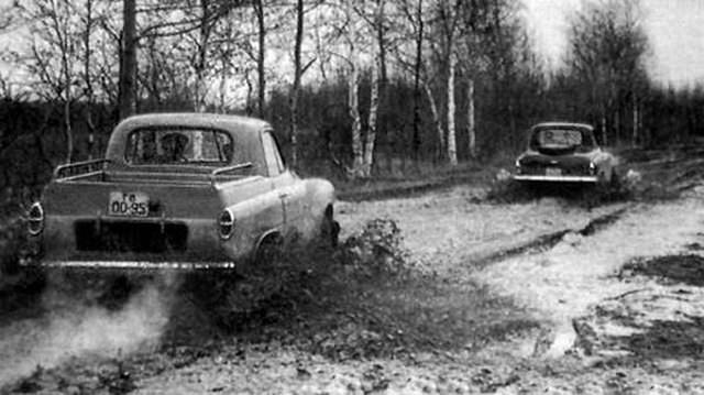 """Необычный внедорожник 1950-х годов: М-73 """"Украинец"""" (8 фото)"""
