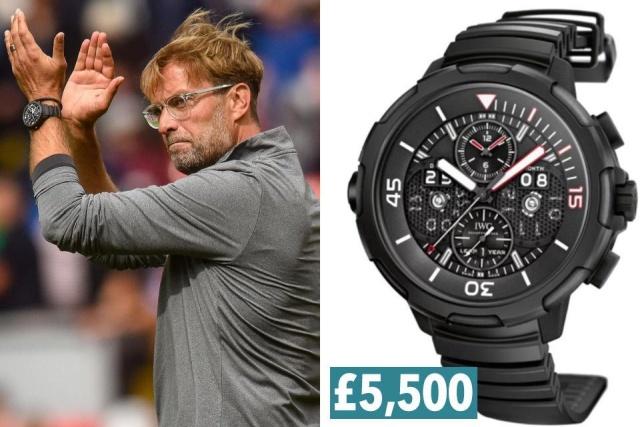 Какие часы носят футбольные тренеры английских клубов (12 фото)