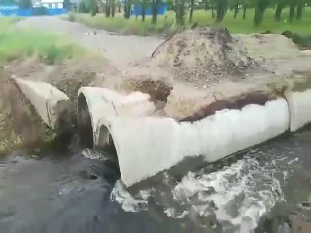 Аквапарк в трубах прямо на улицах Читы
