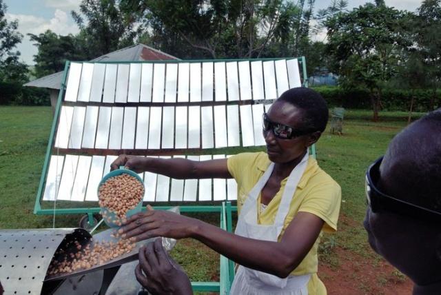 Солнечные пекарни для небольшого производства (6 фото)