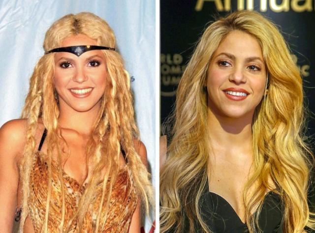 """Как с годами изменились известные певицы: """"Тогда и сейчас"""" (20 фото)"""