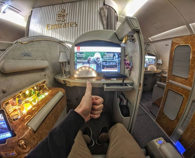 Первый класс в различных авиакомпаниях мира (38 фото)