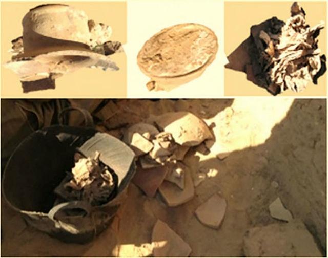 """В древней египетской гробнице был найден """"самый старый сыр в мире"""" (8 фото)"""