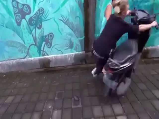 Прирожденная паркурщица