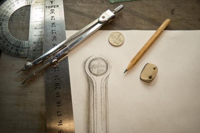 Необычный браслет с кончо из монеты своими руками (34 фото)
