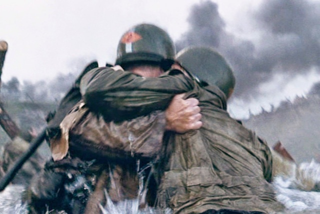 """Как создавался кинофильм """"Спасти рядового Райана"""" (15 фото)"""