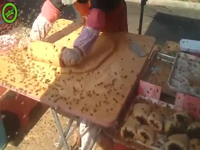 Уличная кулинария в Китае