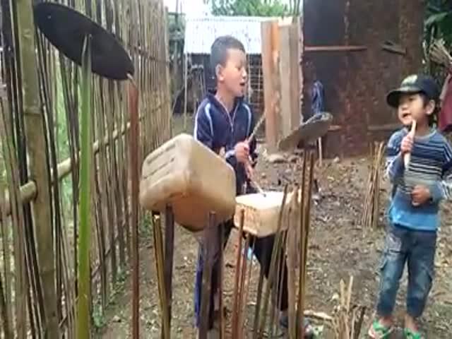 Подрастающие музыканты демонстрируют свои таланты
