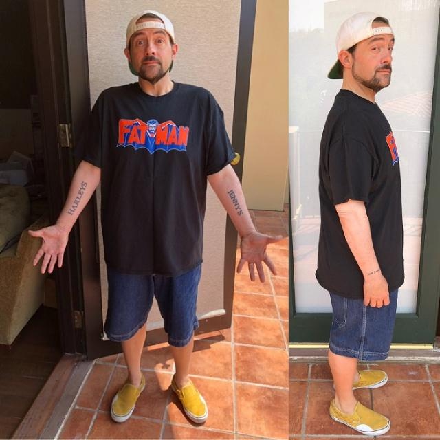 Кевин Смит серьезно похудел после сердечного приступа (3 фото)