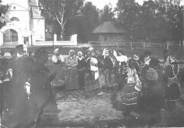 Архивные фото: свадебные традиции марийцев (18 фото)