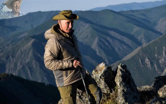 Фотожабы: Владимир Путин отдыхает на природе (15 фото)