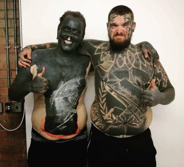 Фрики, которые не смогли остановиться с модификациями своего тела (45 фото)