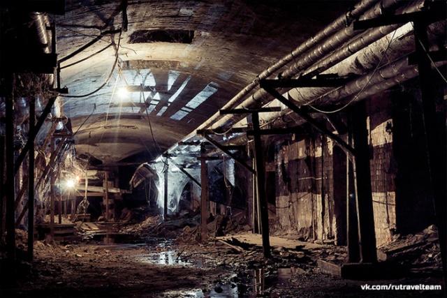 Заброшенные московские подвалы на Солянке с интересной особенностью (14 фото)