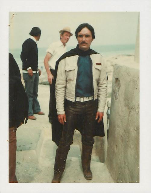 """Архивные фотографии со съемочной площадки """"Звёздные войны. Эпизод IV"""", сделанные на Polaroid (15 фото)"""