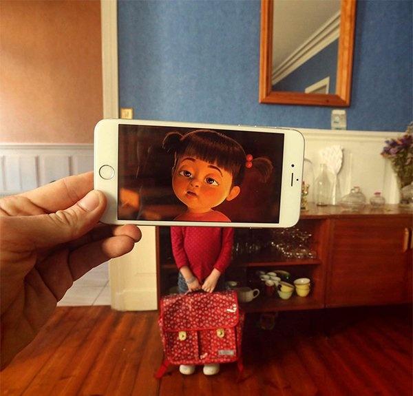 Персонажи из кино и мультфильмов в реальной жизни (30 фото)