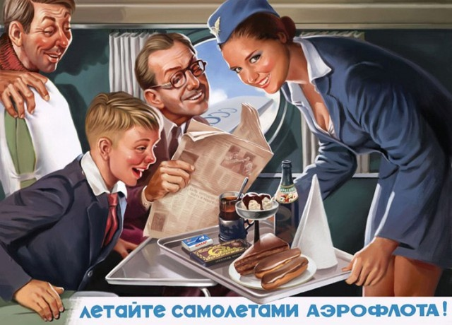 Старые советские плакаты на новый лад (24 фото)