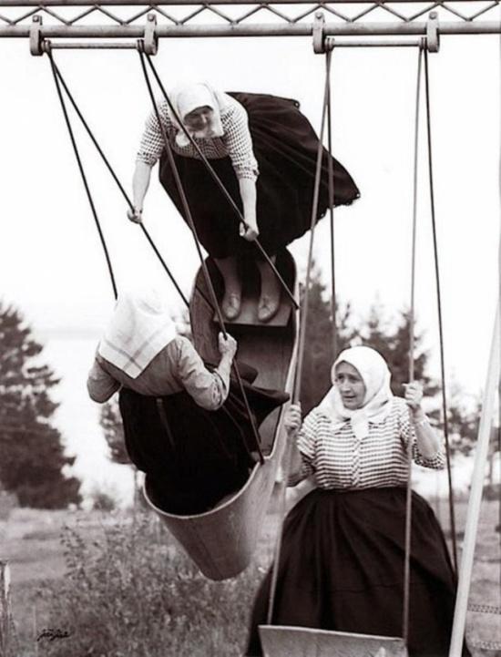 Архивные фотографии, показывающее прошлое с новой стороны (25 фото)