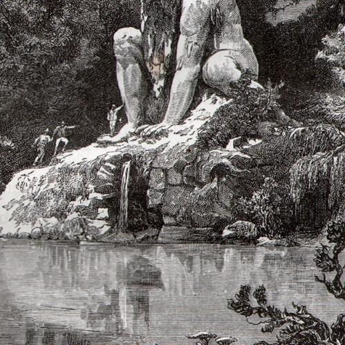 Аппеннинский Колосс - громадная статуя, в существование которой непросто поверить (20 фото)