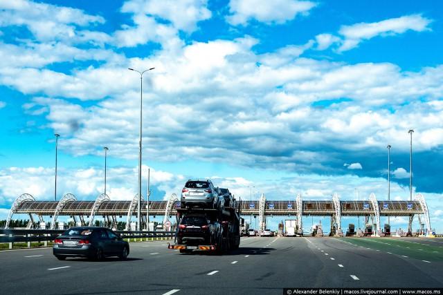 Развод на трассе М-4 «Дон» (11 фото)