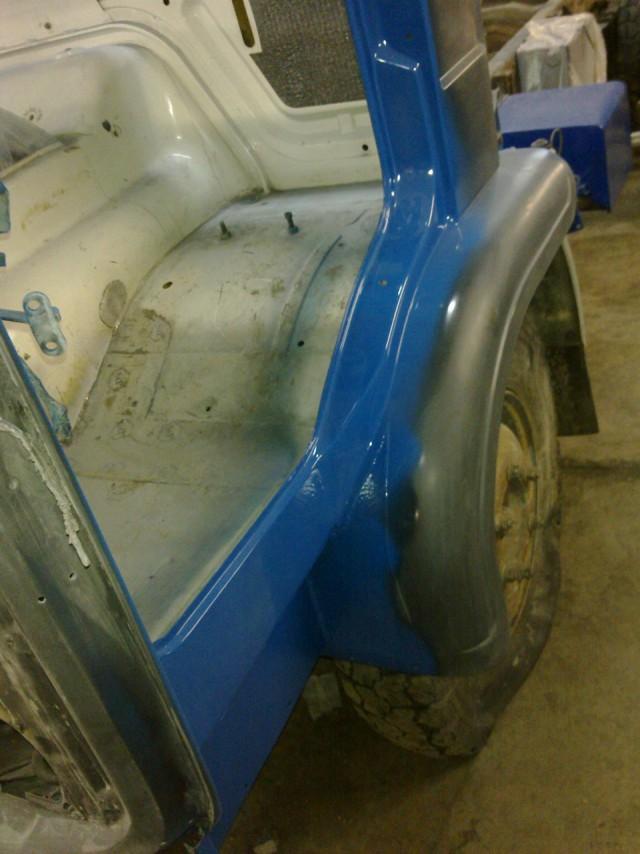 Восстановление старого грузовика Volvo F6 (58 фото)