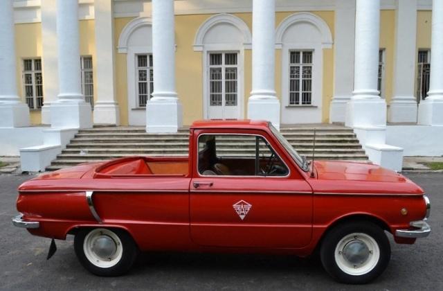 Уникальный ЗАЗ-968АП в кузове пикап (5 фото)