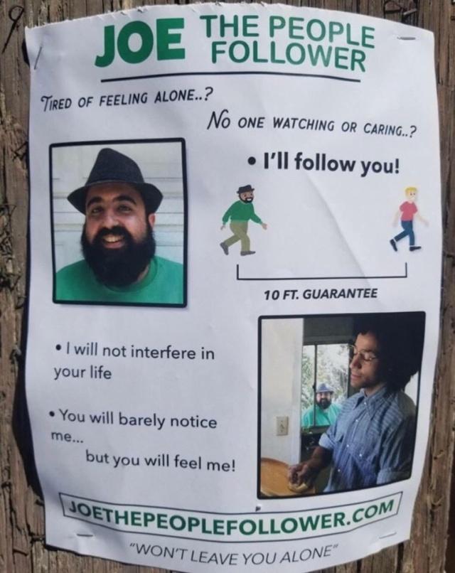 Необычная услуга для одиноких людей (4 фото)