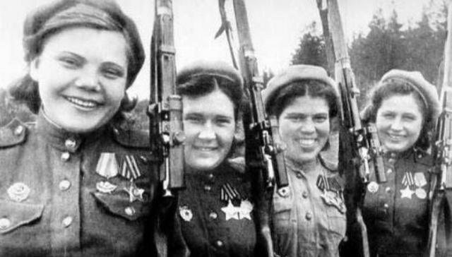 Советские снайперши, имена которых навсегда останутся в истории (8 фото)
