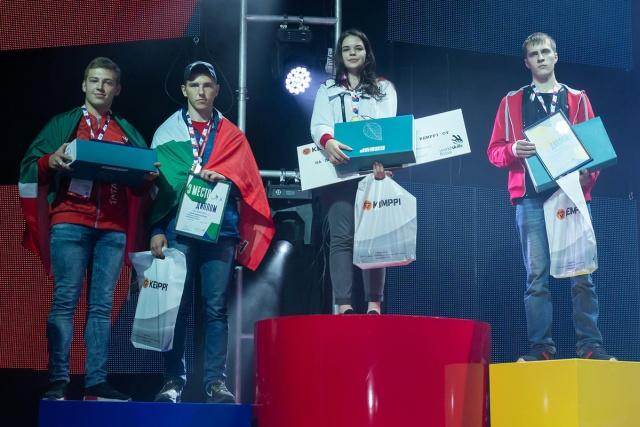 Диана Багаутдинова стала победителем всероссийского конкурса сварщиков WorldSkills (4 фото)