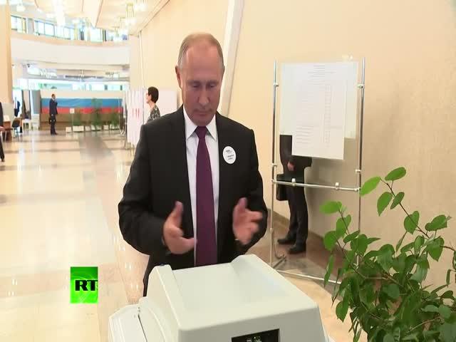 КОИБ только с третьего раза принял бюллетень Владимира Путина