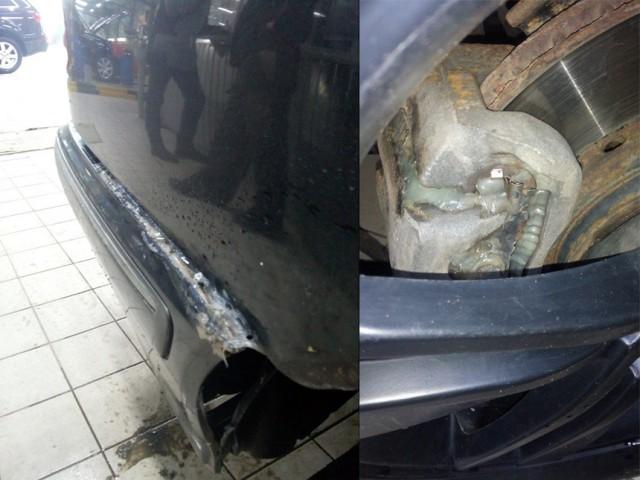 """Ремонт автомобилей в стиле: """"починили, как смогли"""" (25 фото)"""