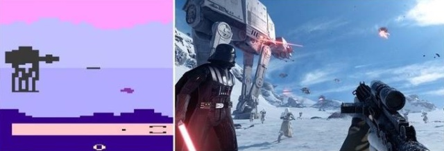 Видеоигры тогда и сейчас (8 фото)