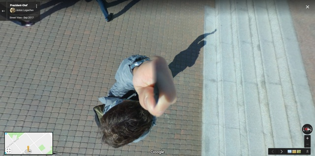Странные кадры с сервиса Google Street View (30 фото)