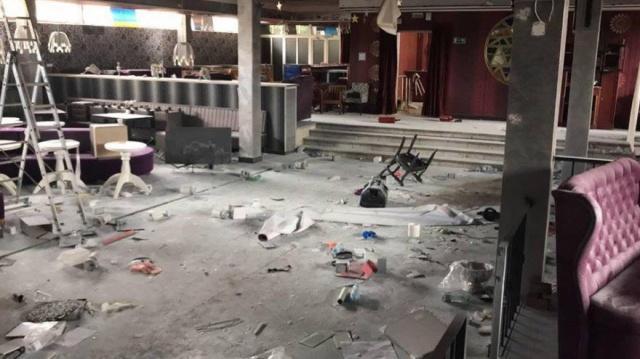 Двое школьников разгромили ночной клуб в Крыму (3 фото + видео)