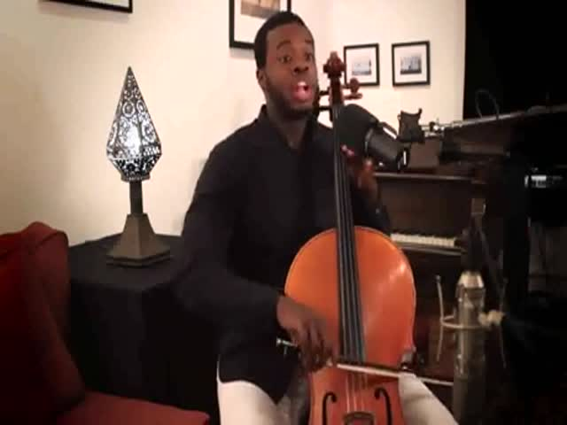 Битбокс и игра на скрипке - необычно, но звучит интересно