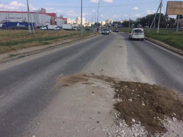 Инновационный ремонт дорожного полотна во Владимире (5 фото)