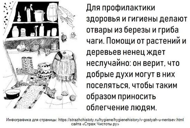Как ненцы поддерживают гигиену на Русском Севере (3 картинки)