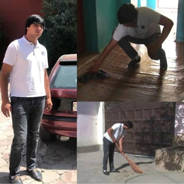 Мужчин, пристающих к женщинам в Таджикистане, наказывают общественными работами (3 фото)