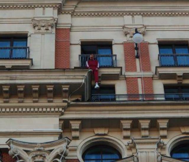 Странная шутка рэпера Хаски в отеле в центре Москвы (5 фото + видео)