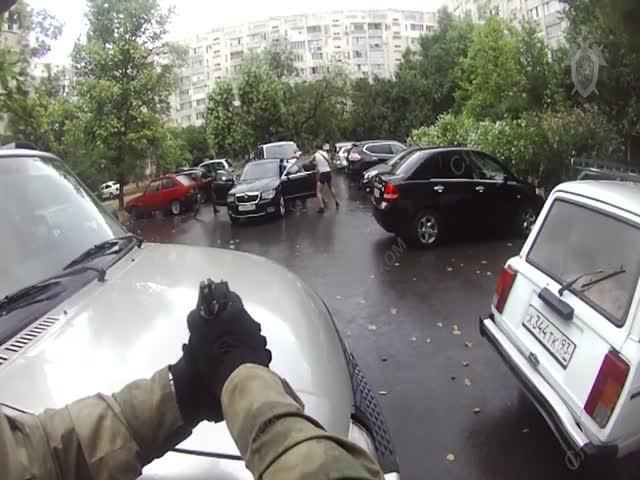 Задержание вымогателей, требовавших 80 млн рублей за жизнь предпринимателя