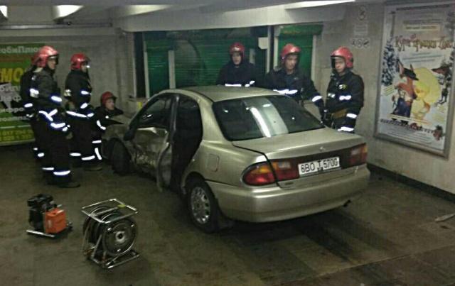 Авария в Минске с неожиданным финалом
