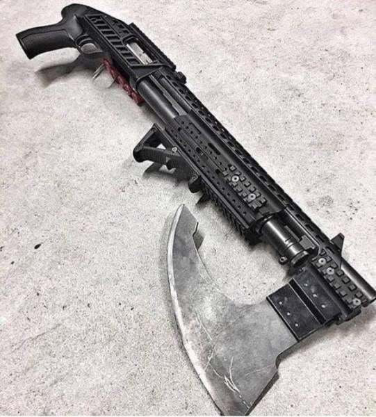 Необычное оружие, которое выглядит по-настоящему круто (20 фото)