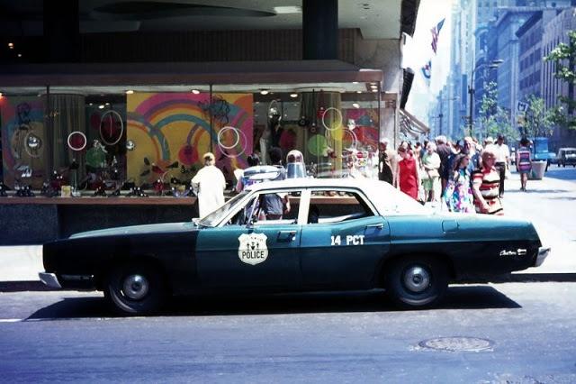 Архивные снимки: 1970-е годы в Нью-Йорке (34 фото)