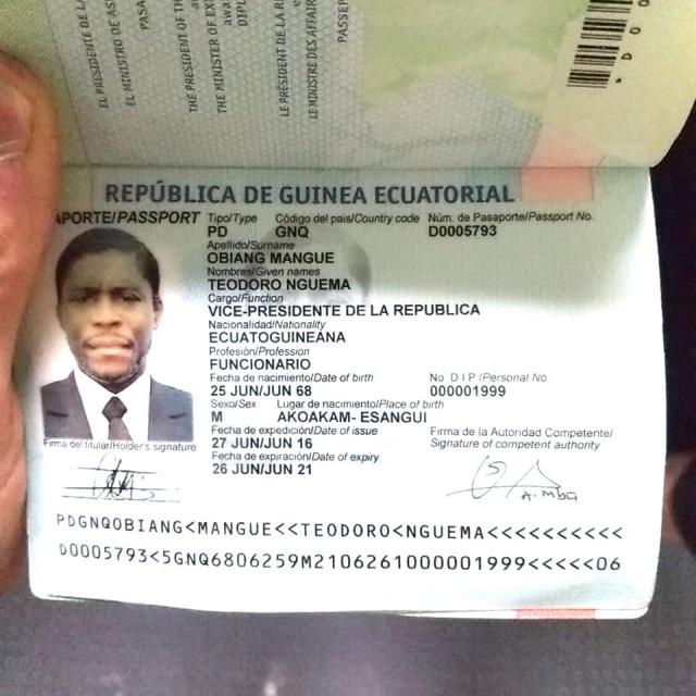 У сына президента Экваториальной Гвинеи изъяли в аэропорту два чемодана с драгоценностями и наличкой (6 фото)