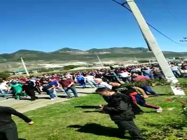 Межнациональные разборки со стрельбой в кабардино-балкарском селе Кёнделен