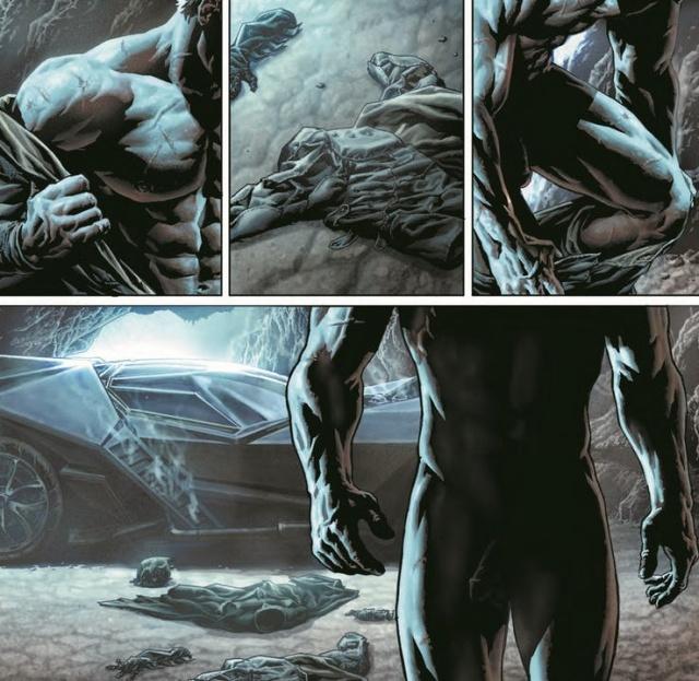 Иллюстраторы DC Comics в новом выпуске про Бэтмена показали его половой орган (2 фото)