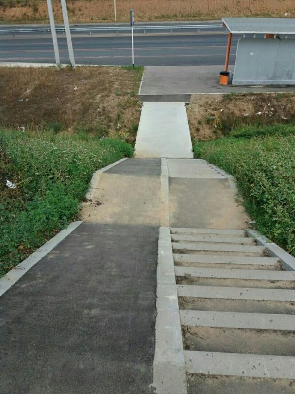 Экстремальный спуск для инвалидов-колясочников (2 фото)