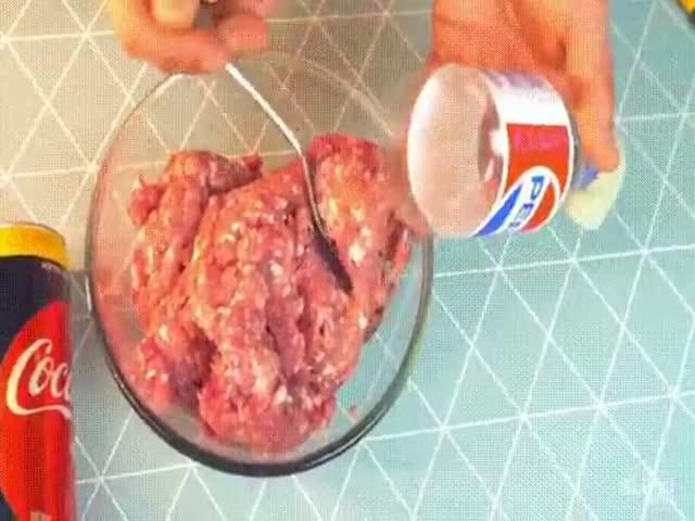Простой способ подготовить люля-кебаб к обжарке